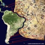 Piri_Reis_dunya_harita_karsilastirma
