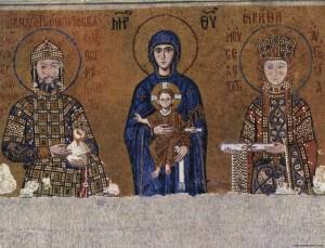 Ekumen ayasofia mozaik