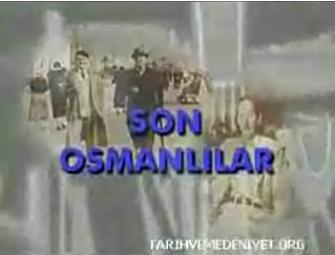 Son Osmanlilar