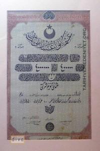 enflasyon. Osmanli Itibar-i Milli Baski Hisse Senedi