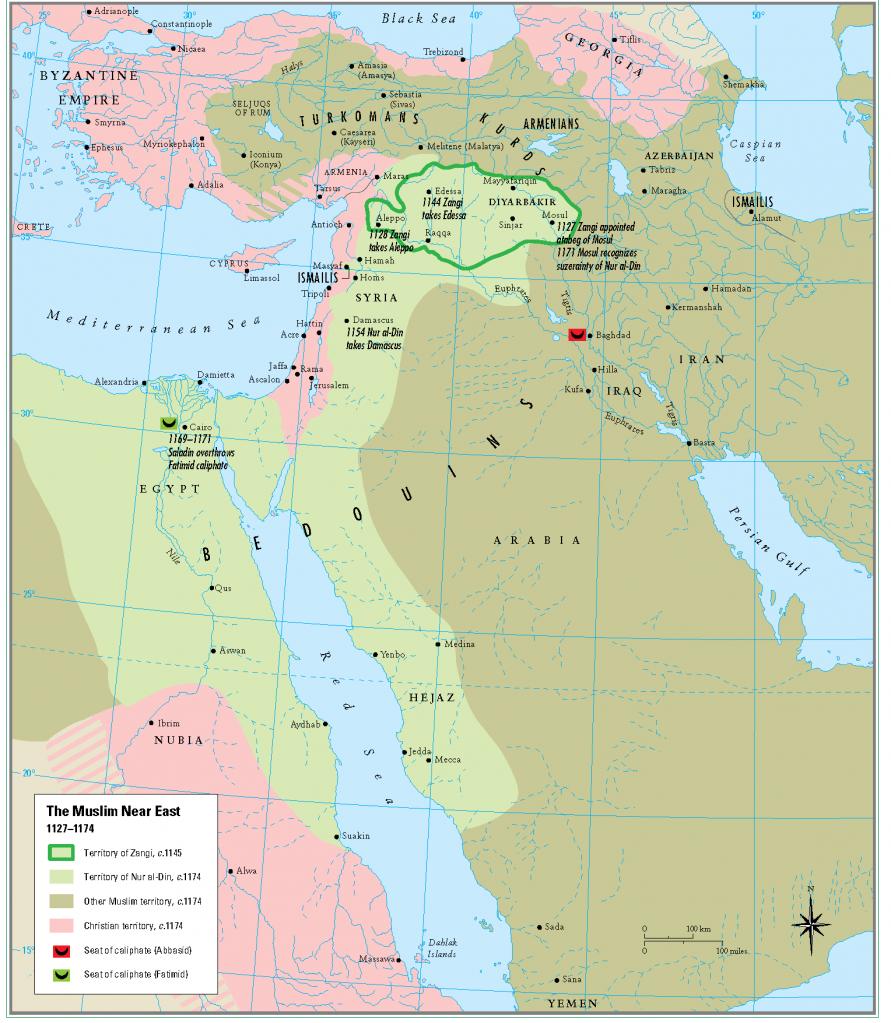 12- 1127 - 1174 arasi  musluman yakin dogu