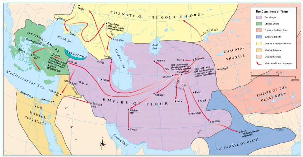 14- Timur devleti ve Seferleri