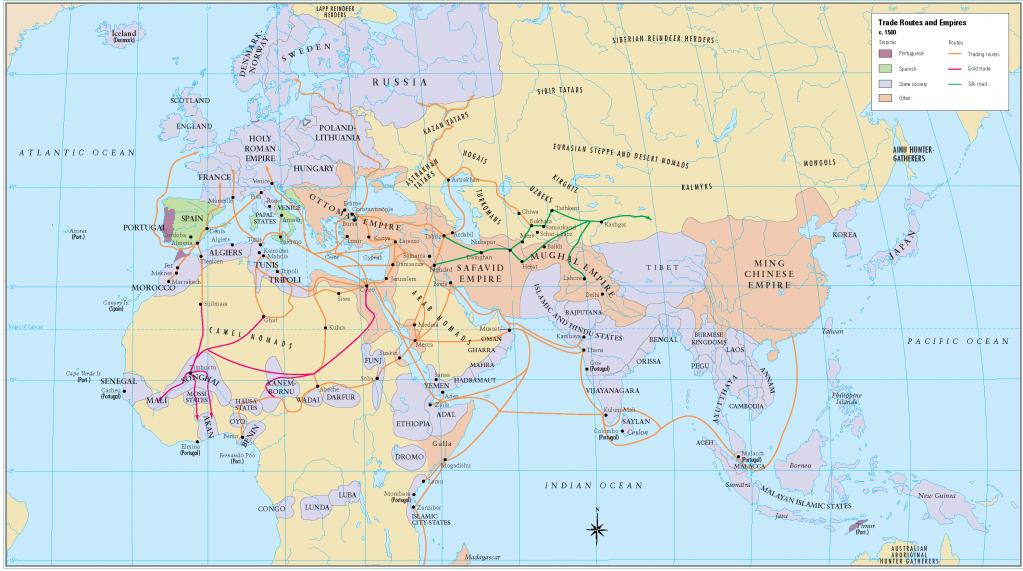 15- 1500 de ticaret yollari ve imparatorluklar
