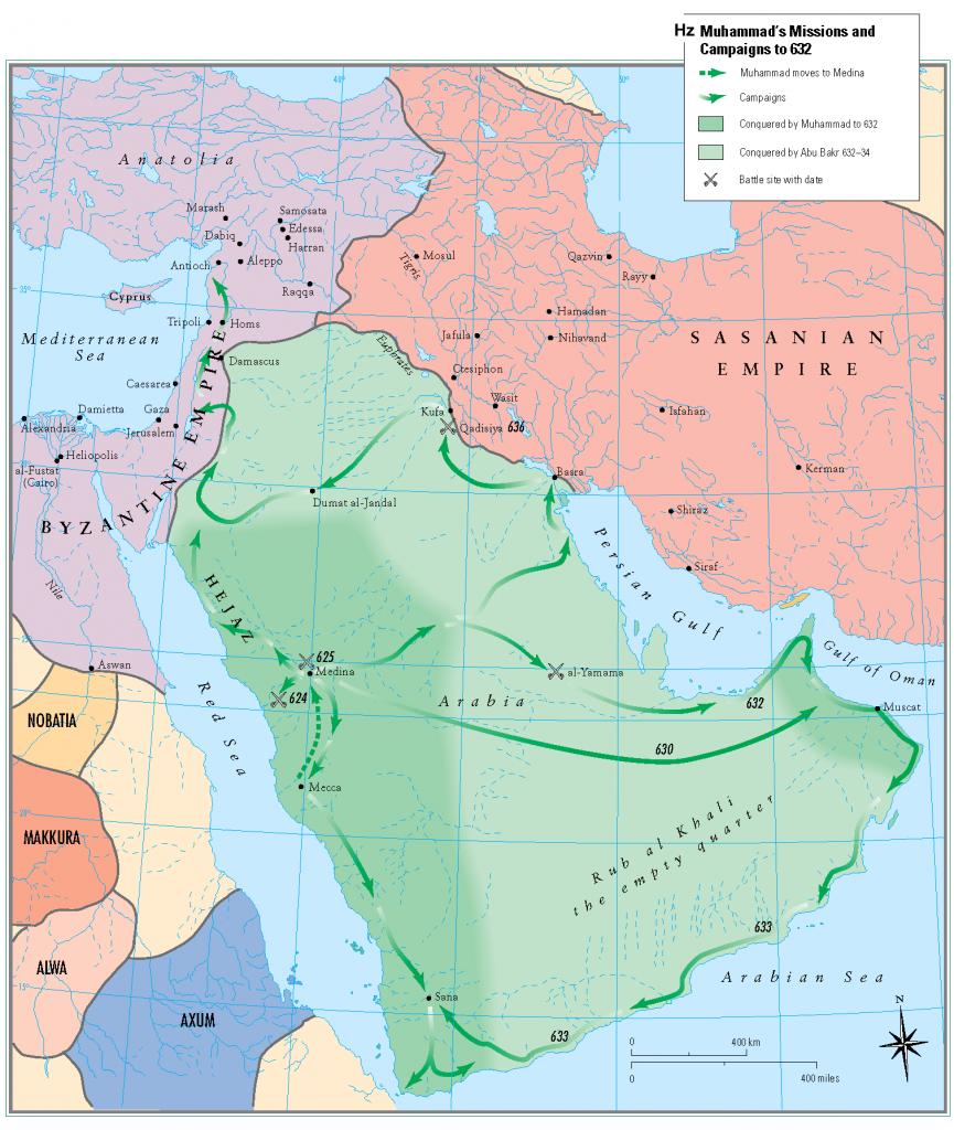2-Hazreti peygamber donemi Arap yarimadasi islam