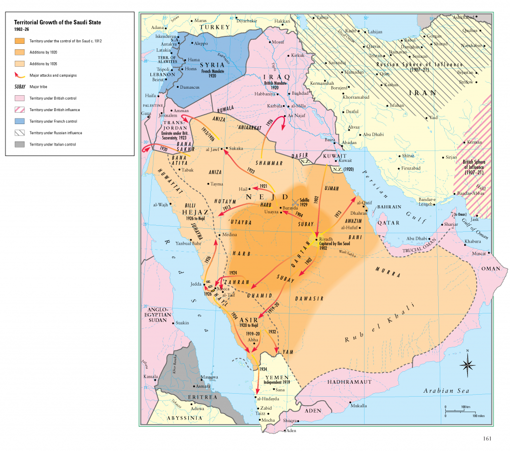 26- Suudi devletinin kurulus ve genislemesi