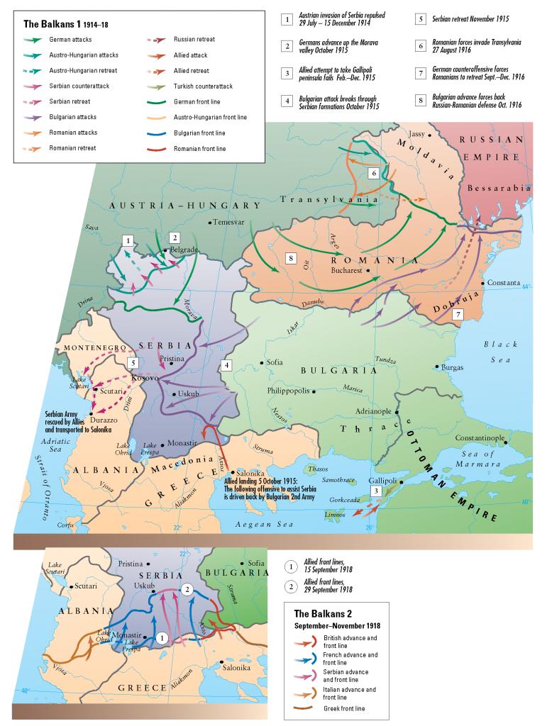 28- 1. ve 2. Balkan Savaslari