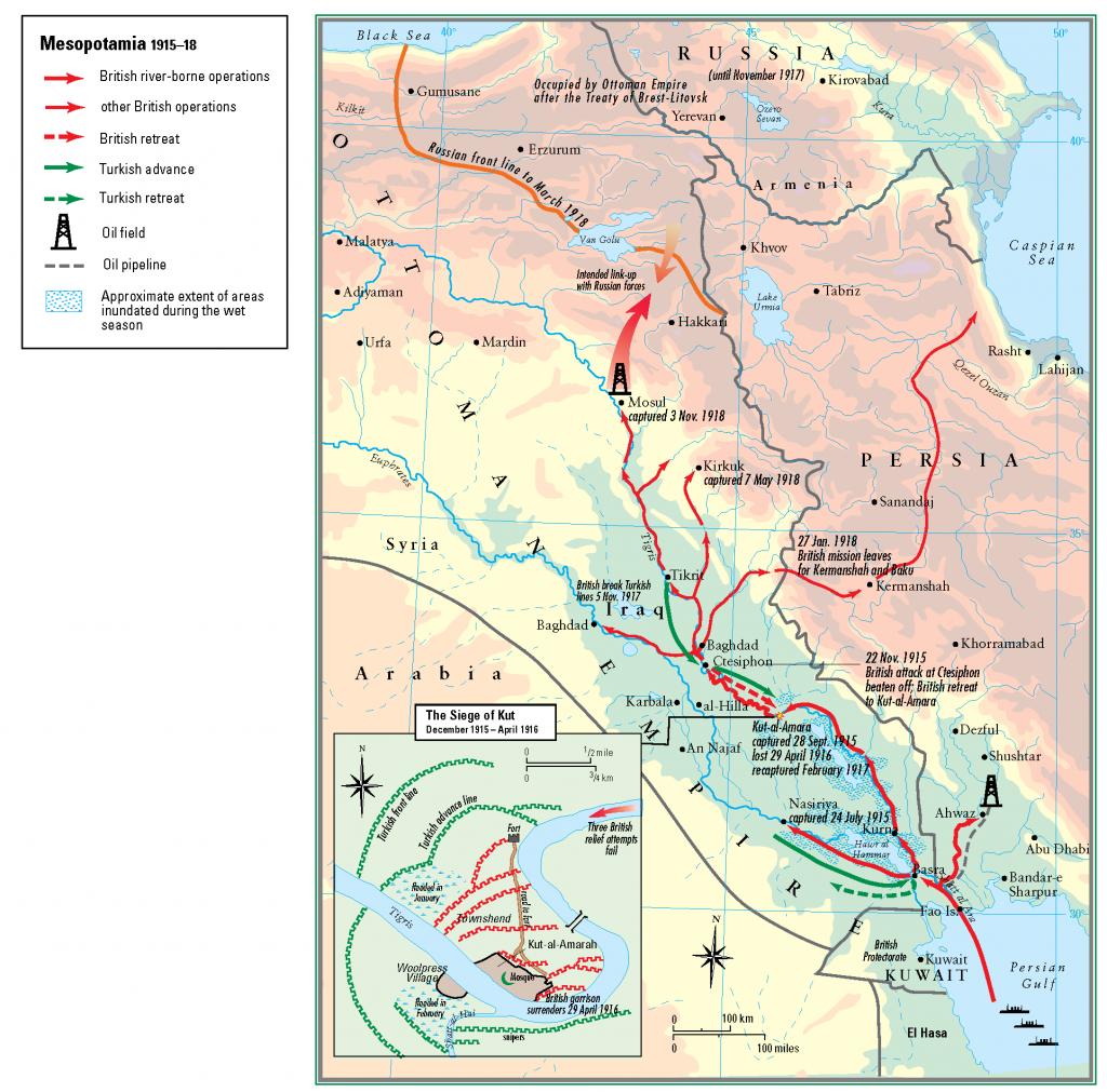 29- 1915 - 1918 Mezopotamya