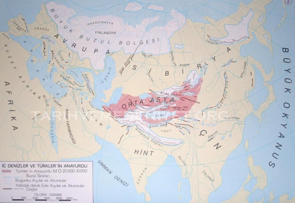 2Harita ic Denizler ve Turklerin Anayurdu