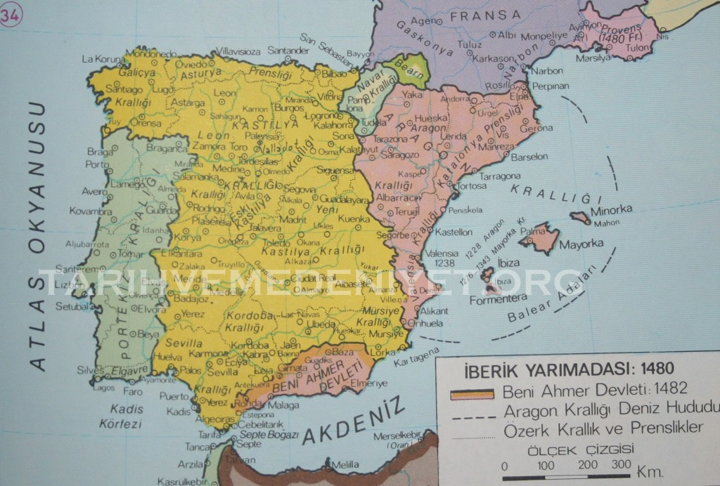 31c iberik Yarimadasi 1480