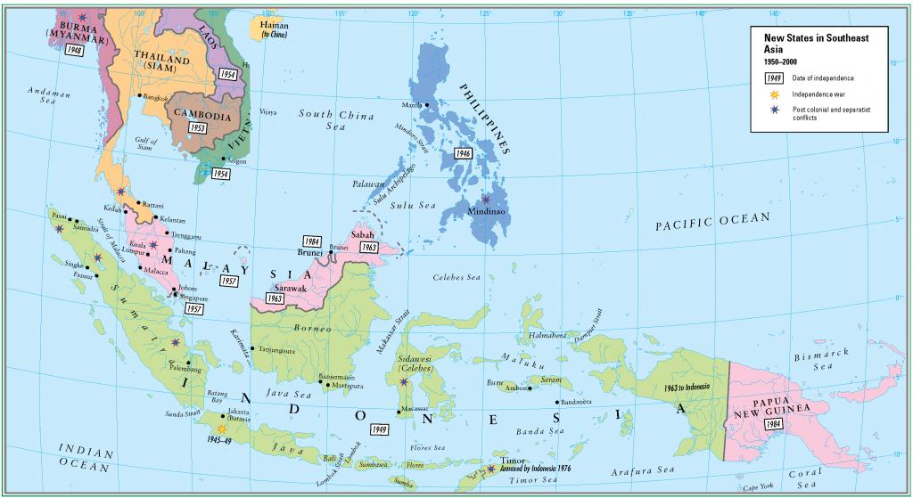 33- 1950 - 2000 yeni kurulan guneydogu asya devletleri