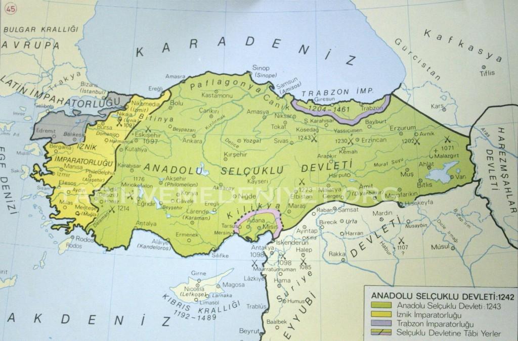 39Harita Anadolu Selcuklu Devleti