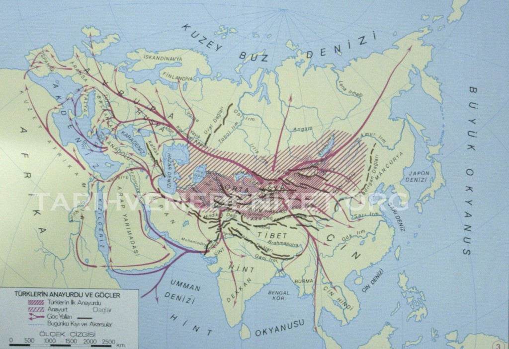 3Harita Turklerin anayurdu ve gocler