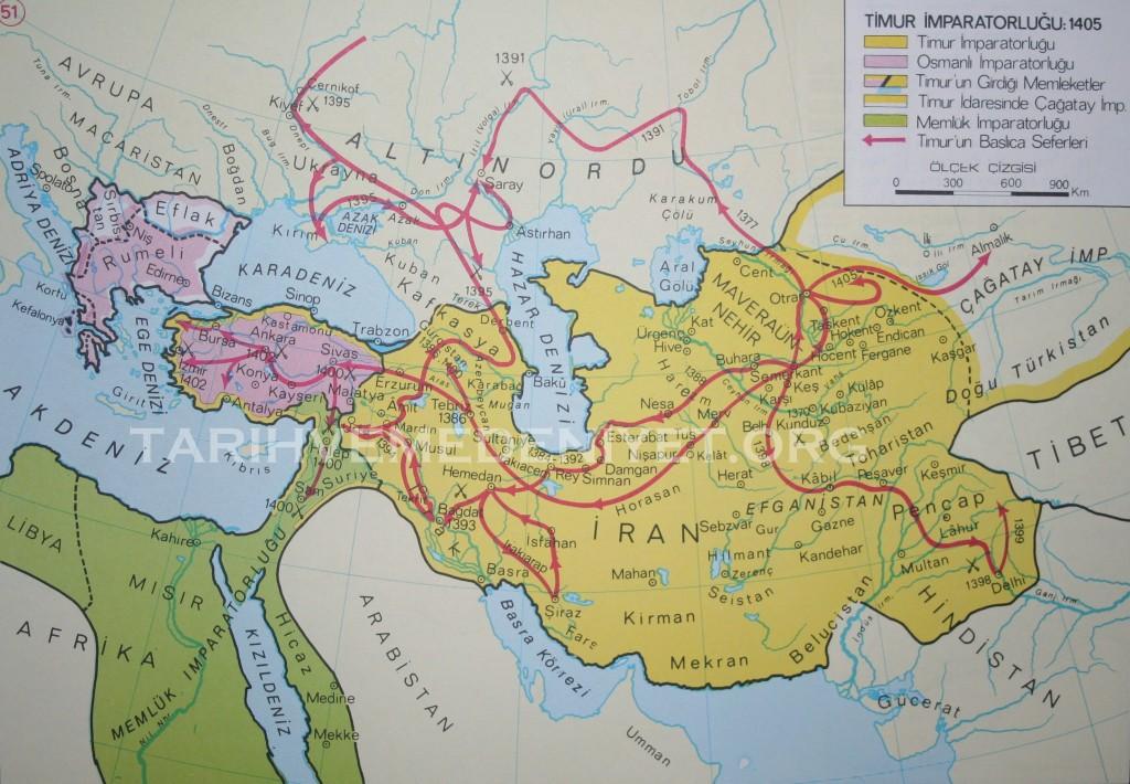 45Harita Timur Devleti - 1405