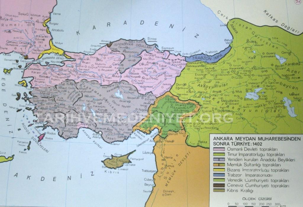 46Harita Ankara meydam muharebesinden sonra Turkiye