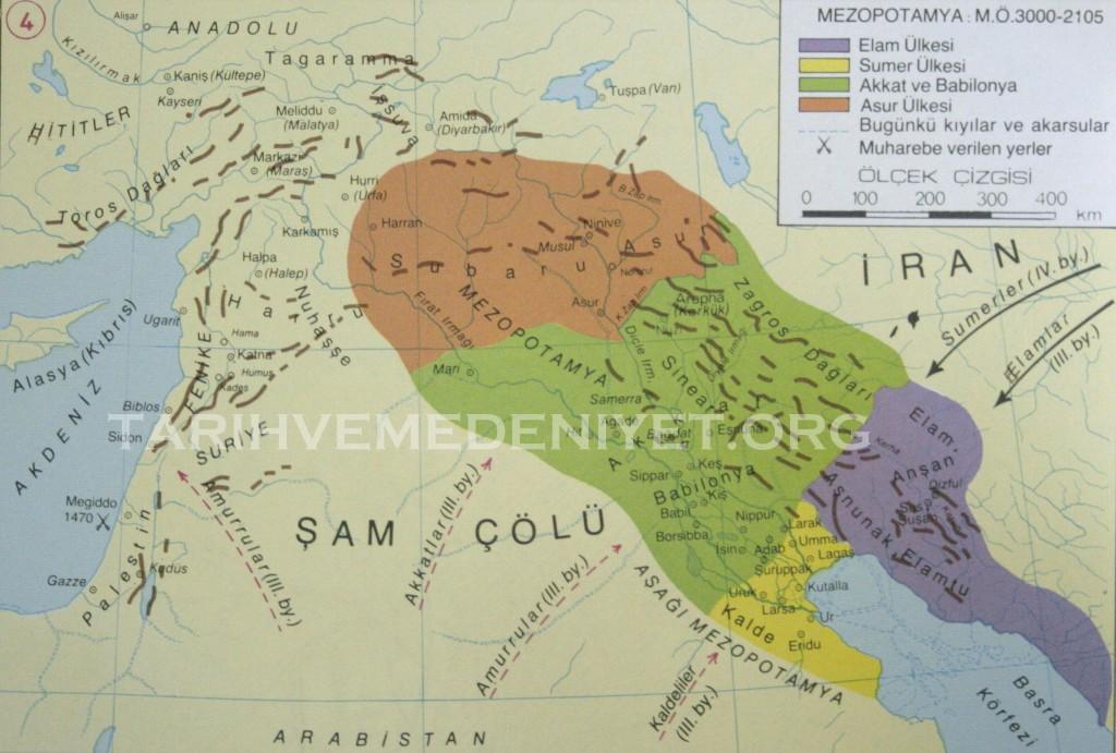 4Harita Mezopotamya MO 3000-2105