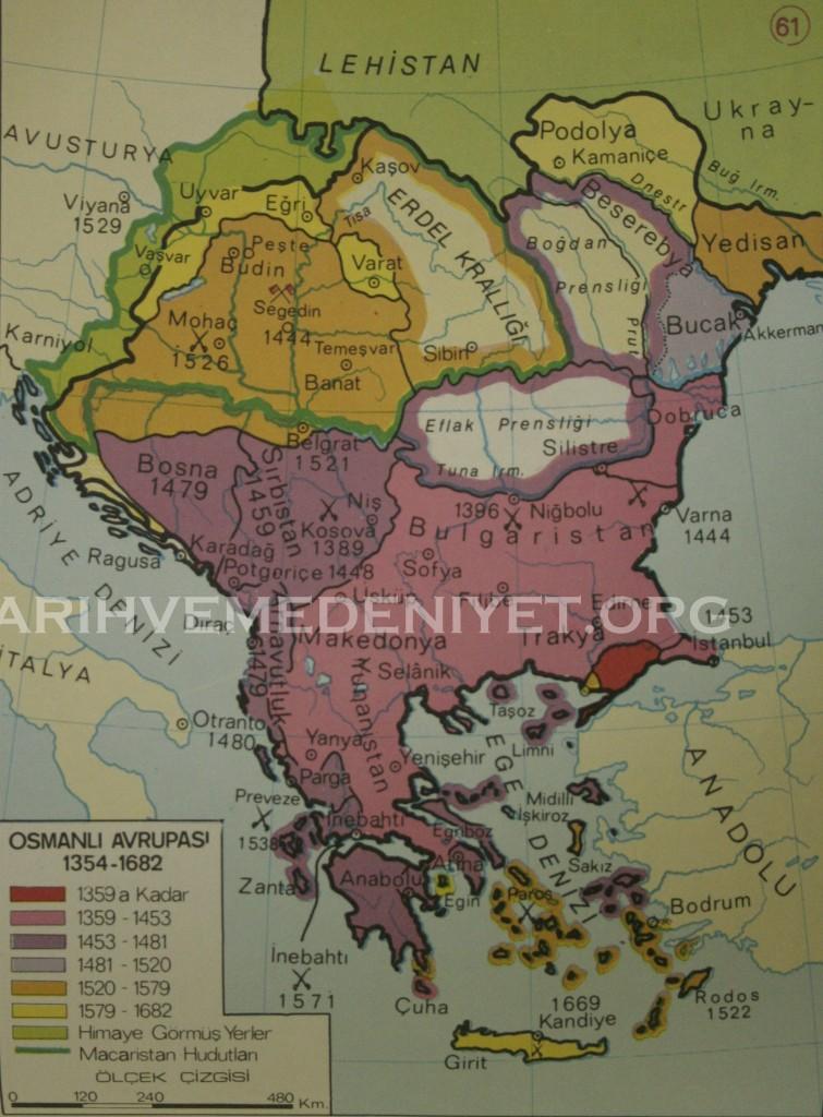55Harita Osmanli Avrupasi 1354-682