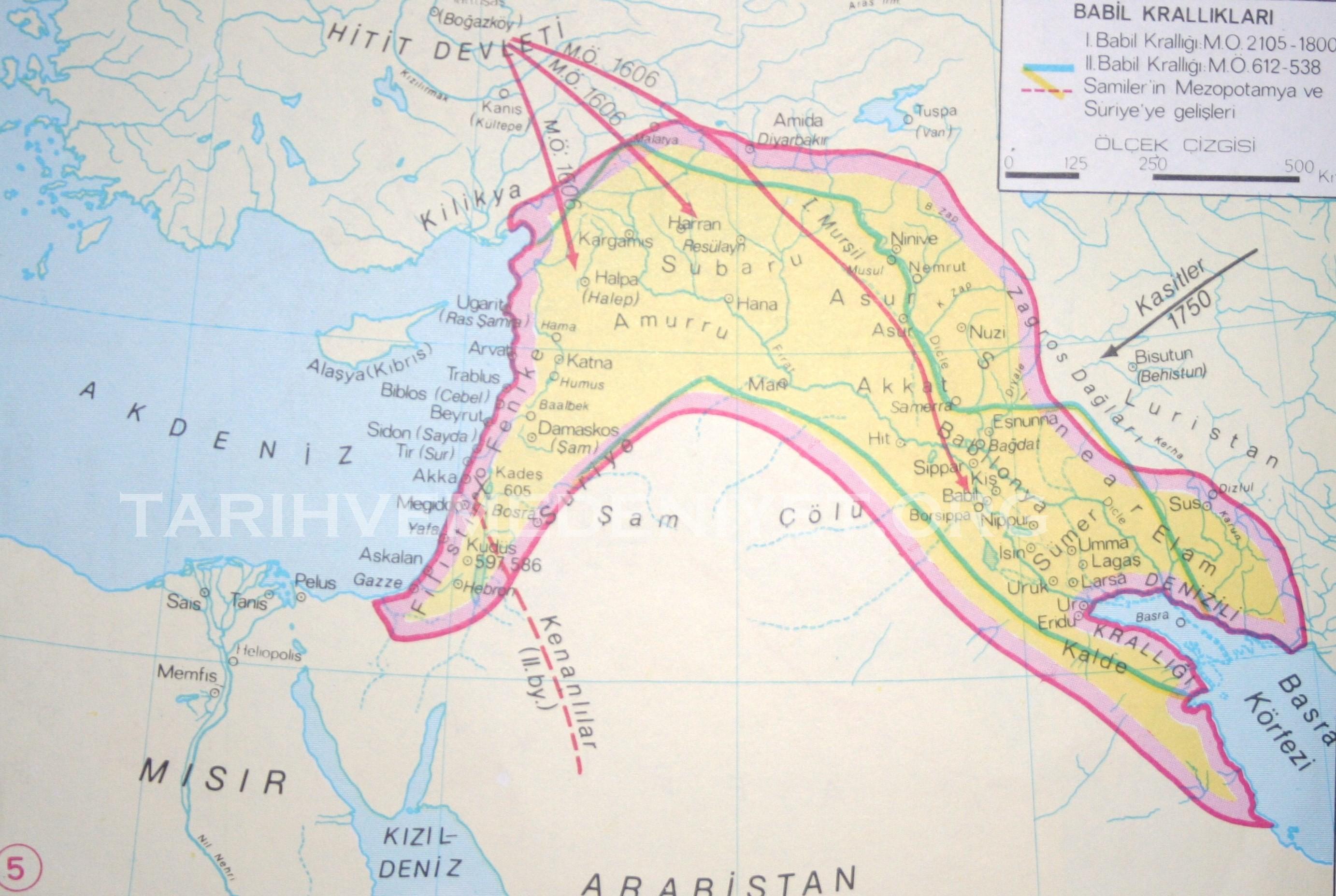 Milattan önce 3000 2000 lerde yakın doğu