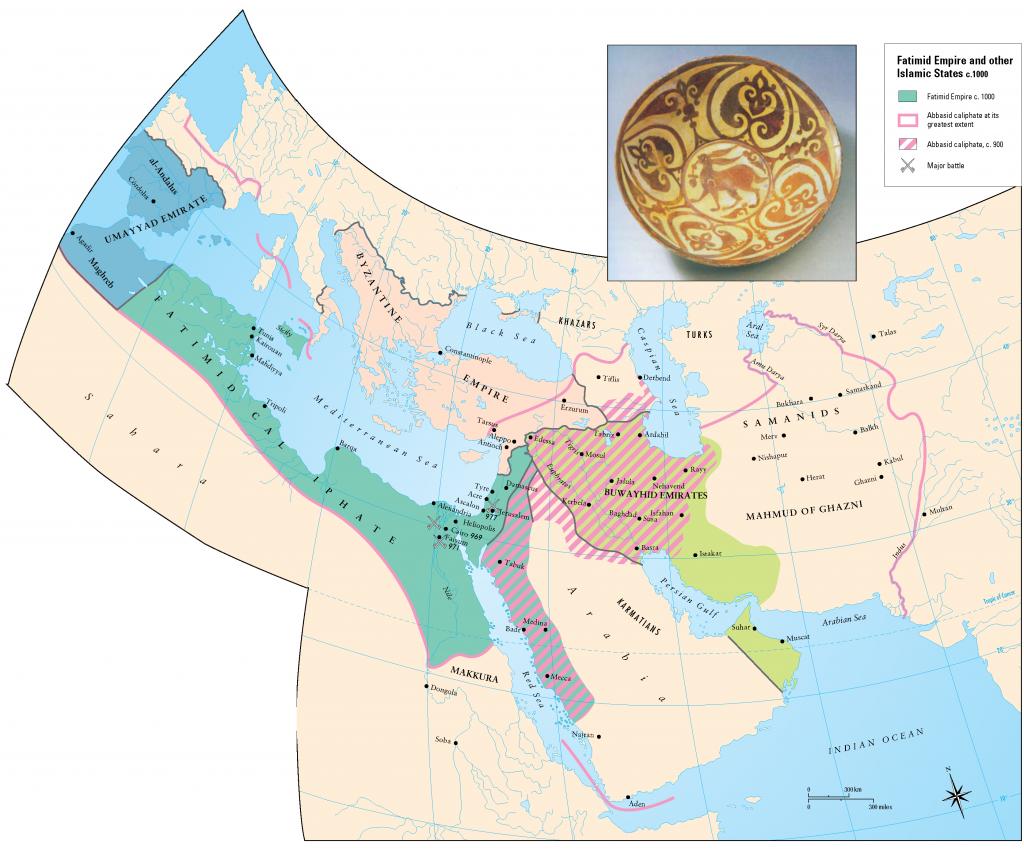 9- Fatimi ve Endulus Emevi devletleri