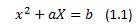denklem 1.1