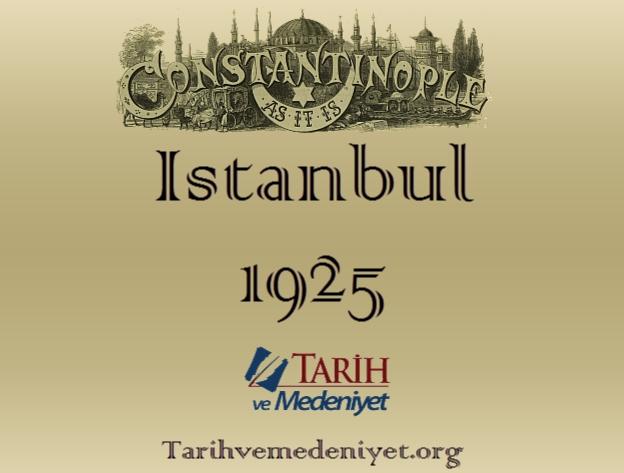 Istanbul 1925