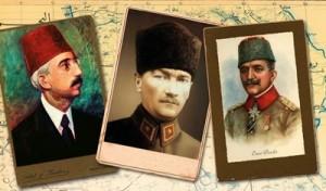 Sultan Vahdeddin - Mustafa Kemal Paşa - Enver Paşa