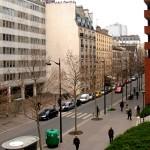 Paris 13'üncü bölgesinden bir görünüm