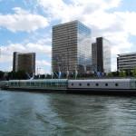 Seine Nehri'nden Millî Kütüphane (Tolbiac Sitesi)