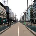 Paris 13'üncü bölgesinden bir görünüm: Avenue de France