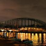 Akşam vakti Seine Nehri