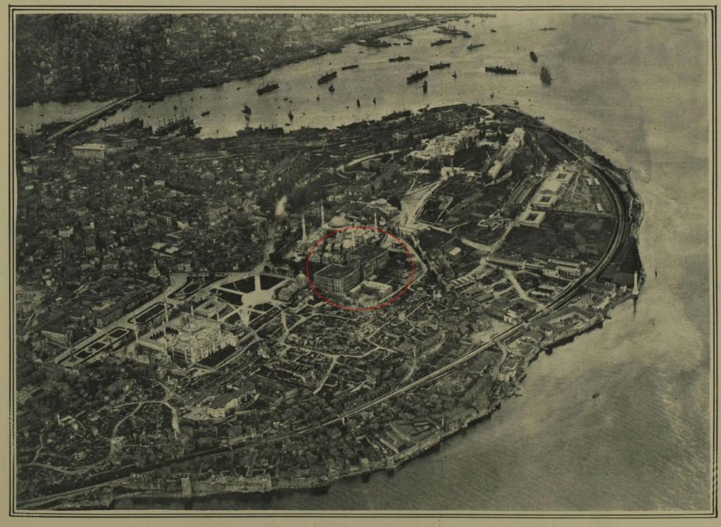 Havadan Istanbul, Nisan 15, 1922