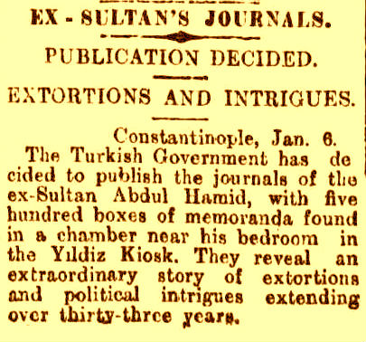Sultanin Jurnalleri