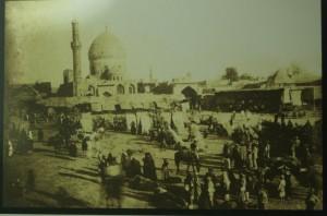 Sultan II. Abdülhamid döneminde Bağdat'taki İmam-ı Azam türbesi