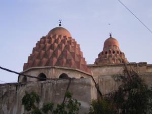Nureddin Zengî'nin Şam'da yaptırdığı medrese ve türbesinin kubbeleri